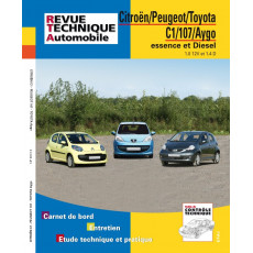 Revue Technique Automobile Peugeot 107