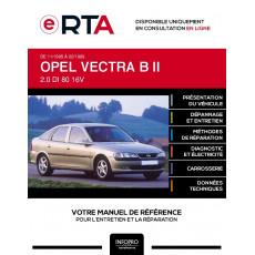 E-RTA Opel Vectra II HAYON 5 portes de 11/1995 à 02/1999