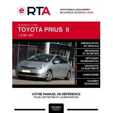 E-RTA Toyota Prius II HAYON 5 portes de 03/2004 à 11/2009
