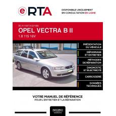 E-RTA Opel Vectra II BREAK 5 portes de 01/1997 à 02/1999