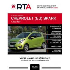 E-RTA Chevrolet (eu) Spark HAYON 5 portes de 01/2010 à 09/2012