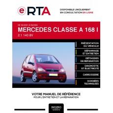 E-RTA Mercedes Classe a I MONOSPACE 5 portes de 03/2001 à 09/2004
