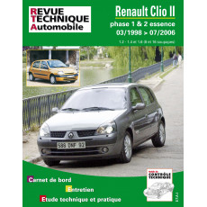 RTA 116 RENAULT CLIO II PHASE 1 (1998 à 2001)