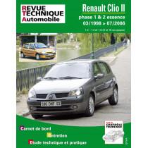 RENAULT CLIO 2 PHASE 1 et 2 essence
