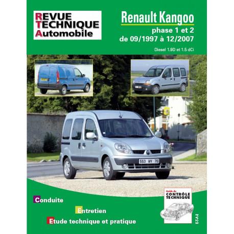 RENAULT KANGOO PHASE 1 et 2