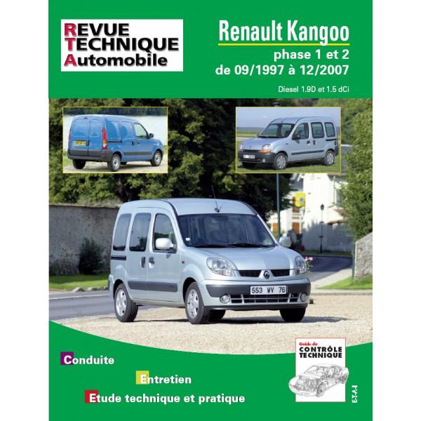 Revue Technique Renault kangoo phase 1 et 2