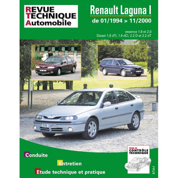 Revue Technique Renault laguna phase 1 et 2