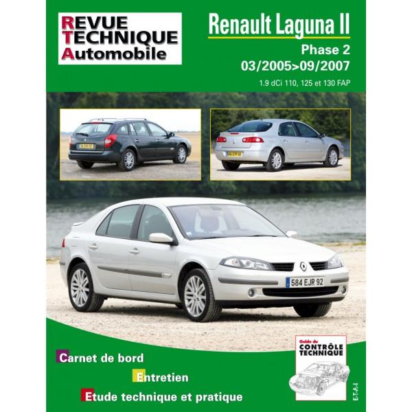 Revue Technique Renault laguna ii phase 2 diesel