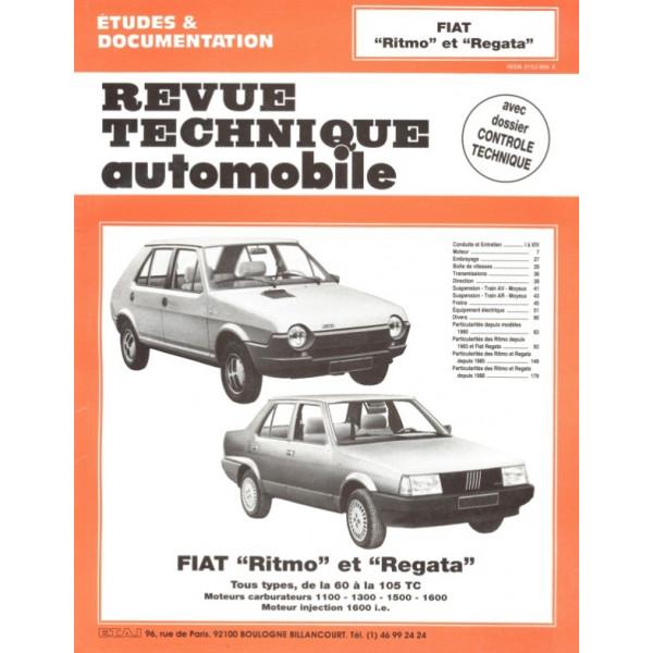 Revue Technique Fiat ritmo et regata