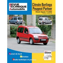 RTA B719.5 BERLINGO/PARTNER - Version Numérique