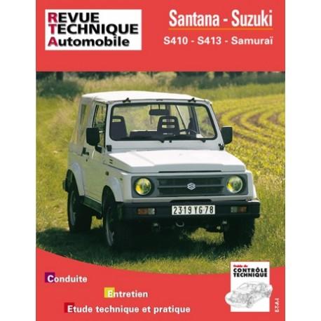 SANTANA et SUZUKI S 410 et 413