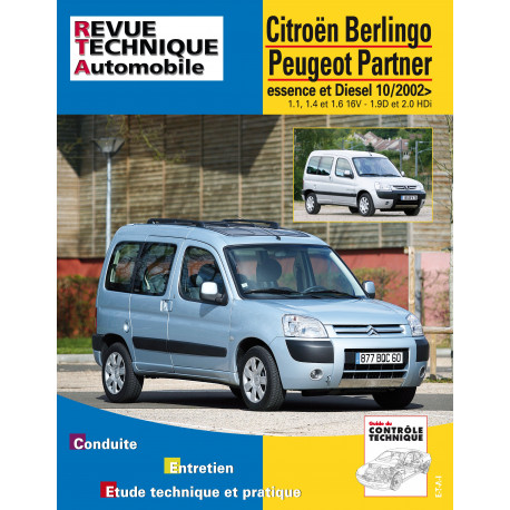 PEUGEOT BERLINGO et PARTNER