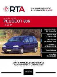 E-RTA Peugeot 806 MONOSPACE 5 portes de 06/1994 à 12/2001