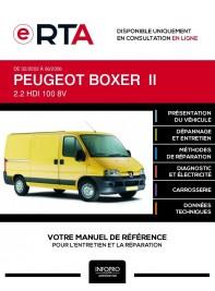 E-RTA Peugeot Boxer II FOURGON 4 portes de 02/2002 à 06/2006