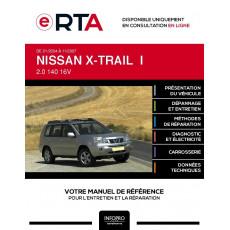 E-RTA Nissan X-trail I BREAK 5 portes de 01/2004 à 11/2007