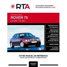 E-RTA Rover 75 BERLINE 4 portes de 06/1999 à 03/2004