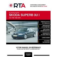 E-RTA Skoda Superb I BERLINE 4 portes de 06/2002 à 06/2008