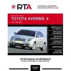 E-RTA Toyota Avensis II HAYON 5 portes de 05/2003 à 08/2006