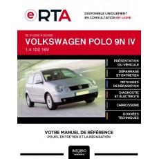 E-RTA Volkswagen Polo IV HAYON 3 portes de 01/2002 à 05/2005
