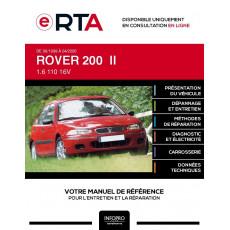 E-RTA Rover 200 II HAYON 5 portes de 06/1999 à 04/2000