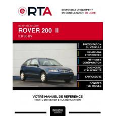 E-RTA Rover 200 II HAYON 3 portes de 06/1999 à 04/2000