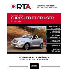 E-RTA Chrysler Pt cruiser CABRIOLET 2 portes de 03/2004 à 12/2005