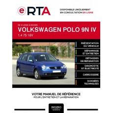E-RTA Volkswagen Polo IV HAYON 5 portes de 01/2002 à 05/2005