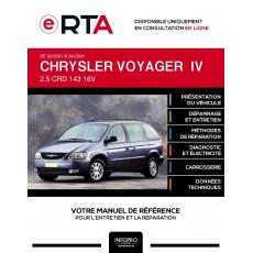 E-RTA Chrysler Voyager IV MONOSPACE 5 portes de 03/2001 à 04/2004