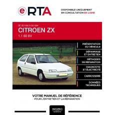 E-RTA Citroen Zx HAYON 3 portes de 05/1992 à 06/1994