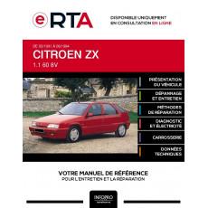 E-RTA Citroen Zx HAYON 5 portes de 03/1991 à 06/1994
