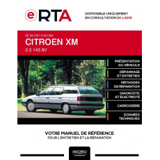 E-RTA Citroen Xm BREAK 5 portes de 09/1991 à 06/1994