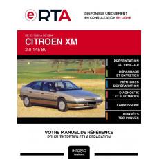 E-RTA Citroen Xm HAYON 5 portes de 07/1989 à 06/1994