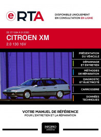 E-RTA Citroen Xm BREAK 5 portes de 07/1994 à 01/2000