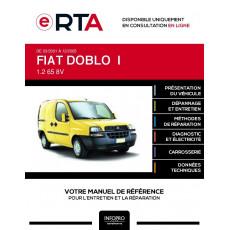E-RTA Fiat Doblo I FOURGON 4 portes de 03/2001 à 12/2005