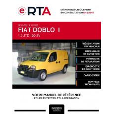E-RTA Fiat Doblo I FOURGON 5 portes de 03/2001 à 12/2005