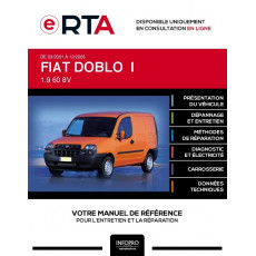 E-RTA Fiat Doblo I FOURGON 3 portes de 03/2001 à 12/2005