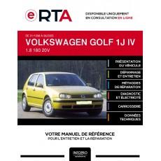 E-RTA Volkswagen Golf IV HAYON 5 portes de 01/1998 à 06/2005