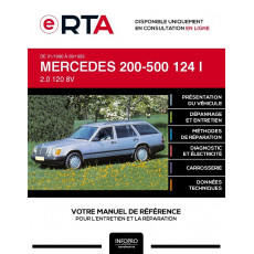 E-RTA Mercedes 200-500 I BREAK 5 portes de 01/1986 à 09/1993