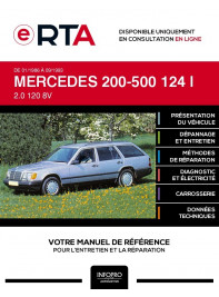 E-RTA Mercedes 200-500 I BREAK 5 portes de 01/1986 à 09/1993
