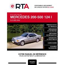 E-RTA Mercedes 200-500 I COUPE 2 portes de 07/1987 à 09/1993