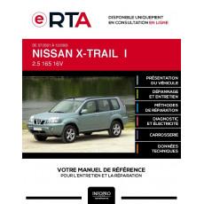 E-RTA Nissan X-trail I BREAK 5 portes de 07/2001 à 12/2003