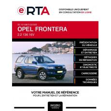 E-RTA Opel Frontera BREAK 3 portes de 10/1998 à 02/2005