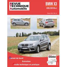 RTA B767 BMW X3 II (F25) PHASE 1 (2010 à 2014)