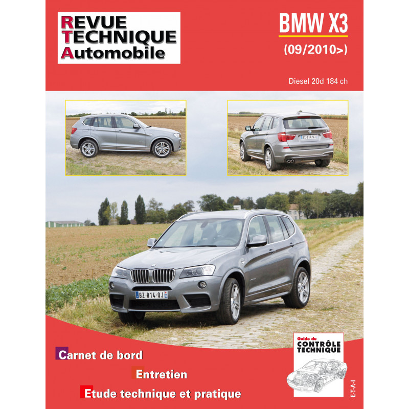revue technique bmw x3 2 0 diesel 184 ch rta site officiel etai. Black Bedroom Furniture Sets. Home Design Ideas