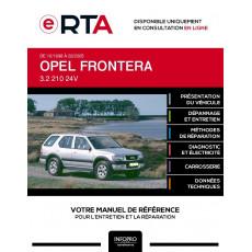 E-RTA Opel Frontera BREAK 5 portes de 10/1998 à 02/2005