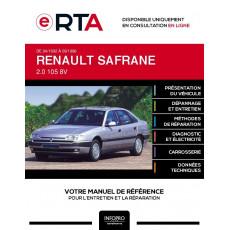 E-RTA Renault Safrane HAYON 5 portes de 04/1992 à 09/1996