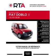 E-RTA Fiat Doblo I BREAK 5 portes de 03/2001 à 12/2005
