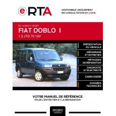 E-RTA Fiat Doblo I BREAK 4 portes de 10/2003 à 12/2005