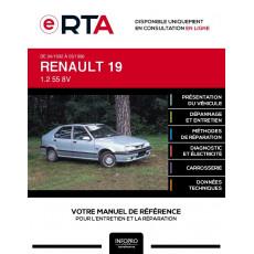 E-RTA Renault 19 HAYON 5 portes de 04/1992 à 03/1996