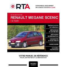 E-RTA Renault Megane scenic I MONOSPACE 5 portes de 09/1996 à 08/1999